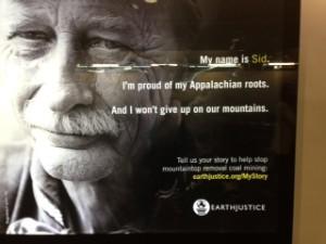 Coal miner ad