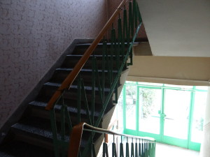 stairwell where I lived