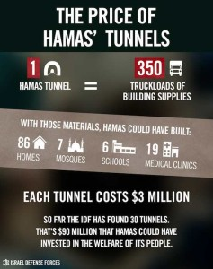 IDF tunnels data