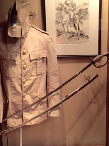 Roosevelt's coat and sabre