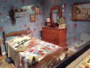 Typical child's room in the 60s