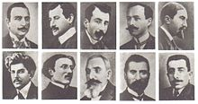Armenian intellectuals killed on 4-24-1915