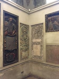 Black church tombs