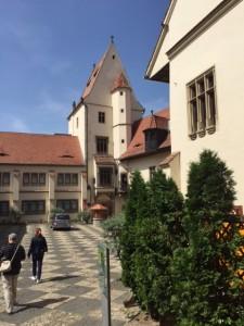Brukenthal courtyard