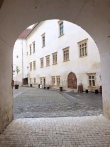 Cetatea Fagarasului main courtyard
