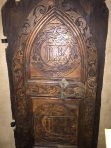 Medieval door in Sibiu