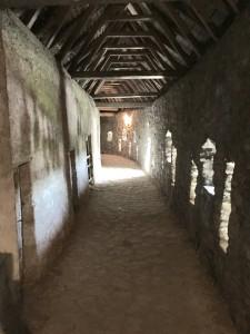 Prejmer Citadel inner walls