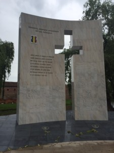 anti-communist monument in Tara Fagarasului