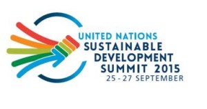 UN Sustainable Development Summit september 25-27-2015
