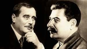 H. G. Wells and Joseph Stalin