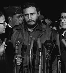Castro visiting the United States in 1959 Photo: Wikipedia